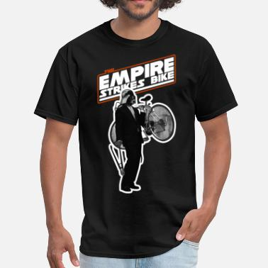 Darth Vader Bike skyfun_empire_bike_black - Men's T-Shirt