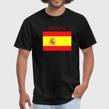 Spain Spanish Spanish Flag spain yellow - Men's T-Shirt