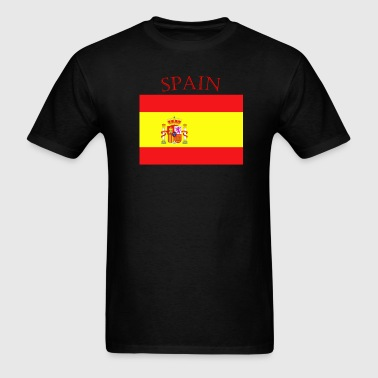 Spanish Flag spain yellow - Men's T-Shirt