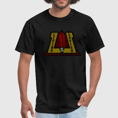 Living Lavish Black Tee - Men's T-Shirt
