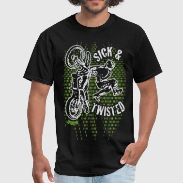 Sick Twisted Motocross - Men's T-Shirt