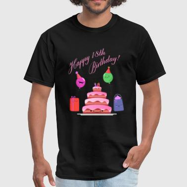 18th Birthday - Men's T-Shirt