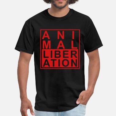 Liberation Animal liberation - Men's T-Shirt
