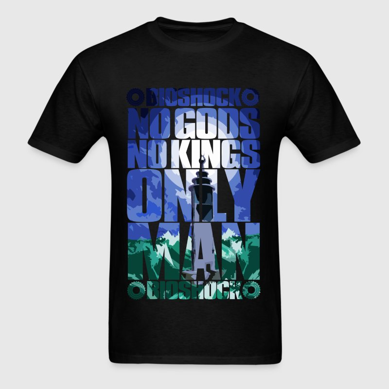No Gods or Kings, Only Man - Men's T-Shirt