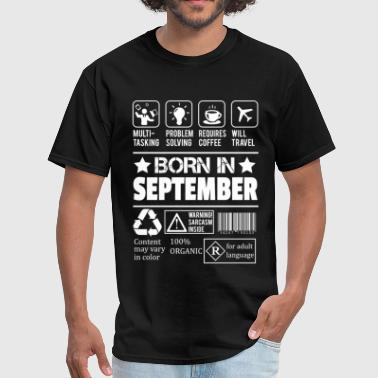 Born In September - Men's T-Shirt