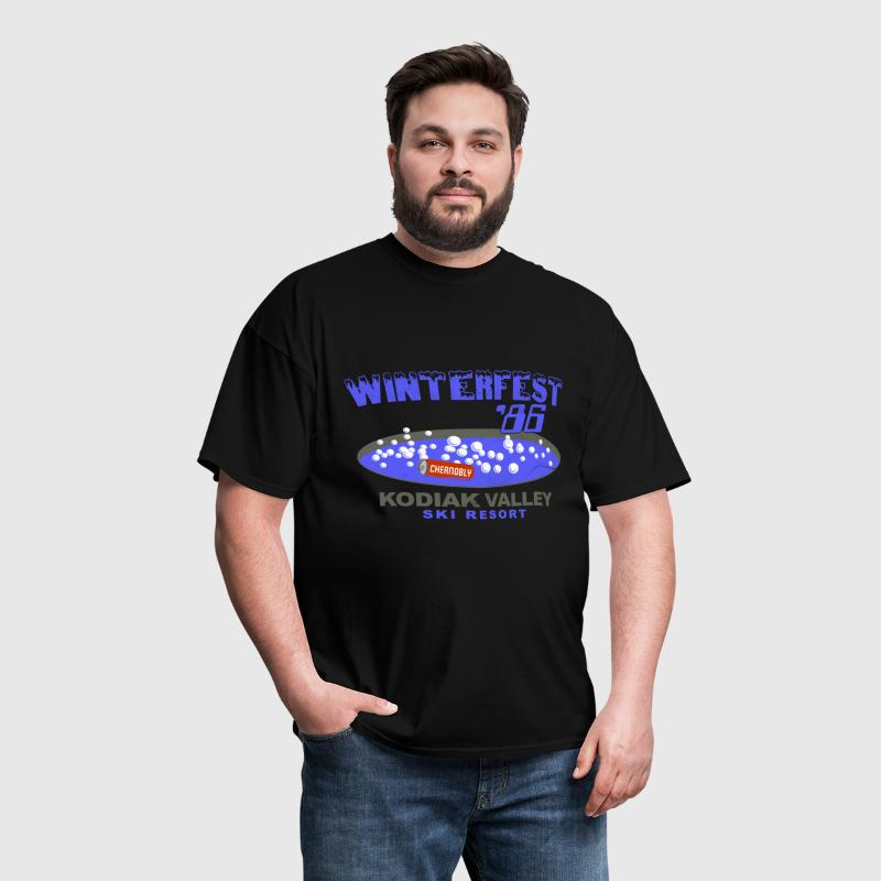 Winterfest 86 Hot Tub - Men's T-Shirt