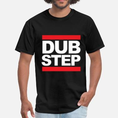 Run DUBSTEP MUSIC DESIGN - Men's T-Shirt
