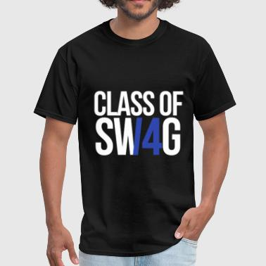 Blues Band CLASS OF SWAG/14 (BLUE WITH NO BAND)  - Men's T-Shirt