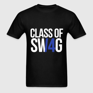 CLASS OF SWAG/14 (BLUE WITH NO BAND)  - Men's T-Shirt