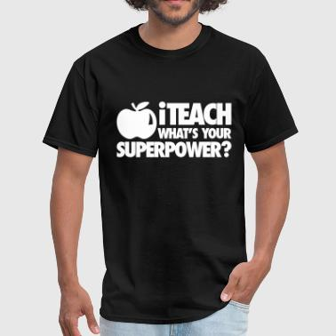 iTech What's Your Superpower? - Men's T-Shirt