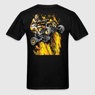 Bonfire Quad ATV - Men's T-Shirt