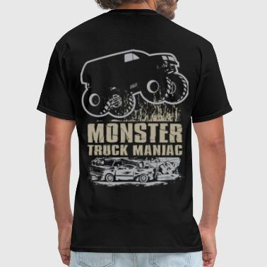 Toyota-tacoma-off-road-truck Monster Truck Maniac - Men's T-Shirt