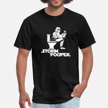 Storm Trooper Storm Trooper Pooper - Men's T-Shirt