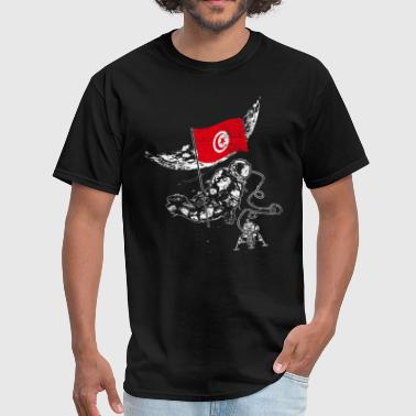 Tunisia flag - Men's T-Shirt