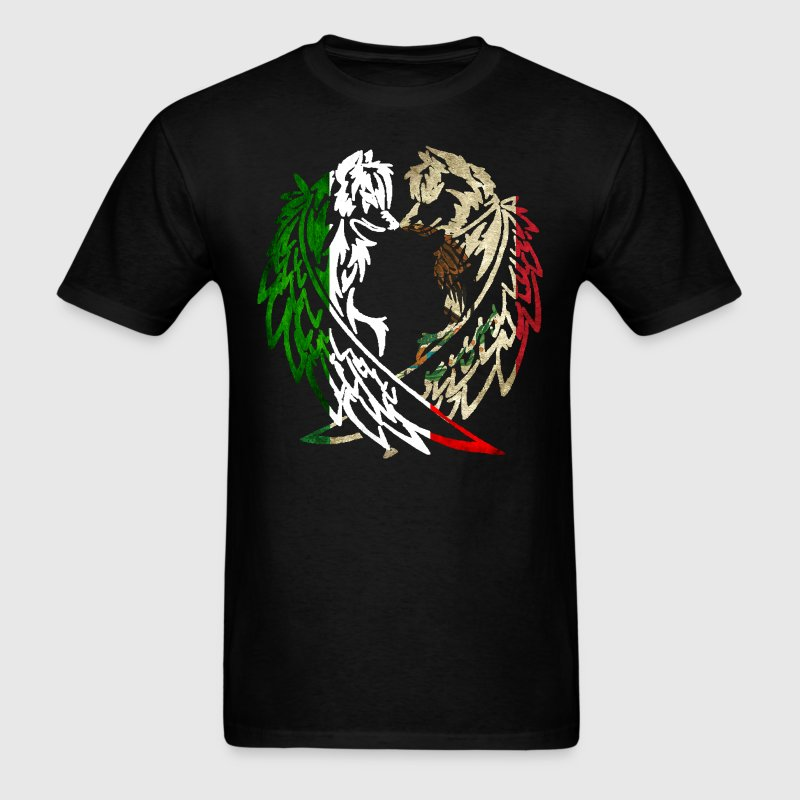 ITALY MEXICO WOLF LOVE - Men's T-Shirt
