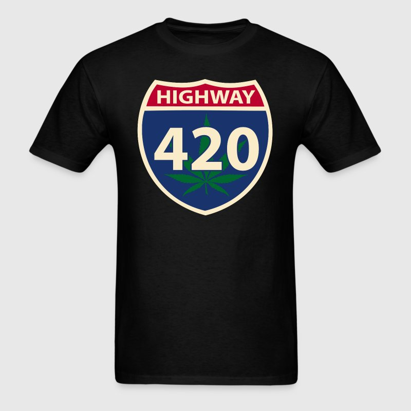 Highway 420 - Men's T-Shirt