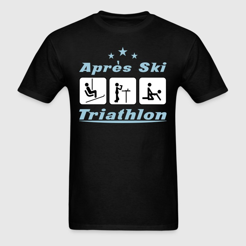 Apres Ski Triathlon c3 - Men's T-Shirt