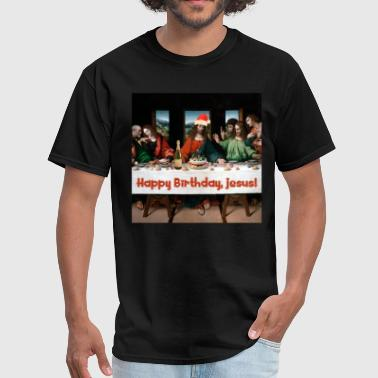Happy Birthday, Jesus! - Men's T-Shirt