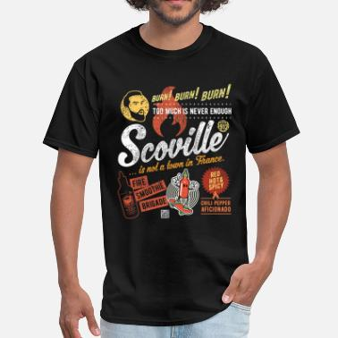 Chili Pepper Scoville is not a town in France - Men's T-Shirt