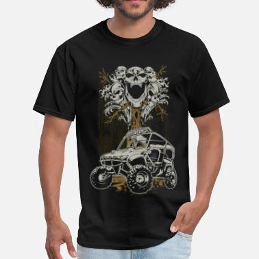 Baja 1000 UTV Skull Tree - Men's T-Shirt