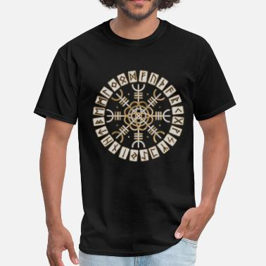 Runic Helm of awe - Men's T-Shirt
