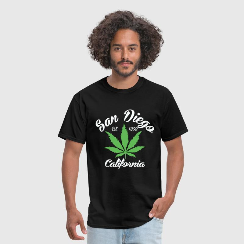 San Diego EST 1850 - Men's T-Shirt