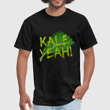 Vegan: Kale Yeah - Men's T-Shirt