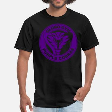 Purple Globo Gym Purple Cobras - Men's T-Shirt