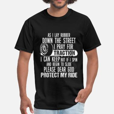 Contractor Funny Tractor Prayer - I am a Tractor - Men's T-Shirt