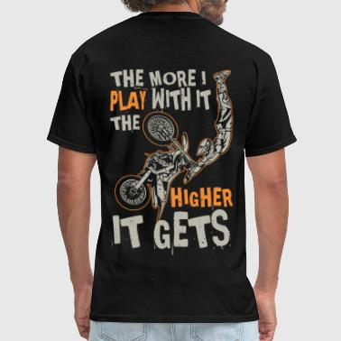 Play Higher Motocross - Men's T-Shirt