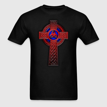 Trin X Full Red.png - Men's T-Shirt