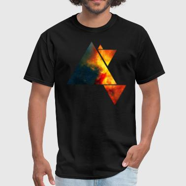 Space Triangles - Men's T-Shirt