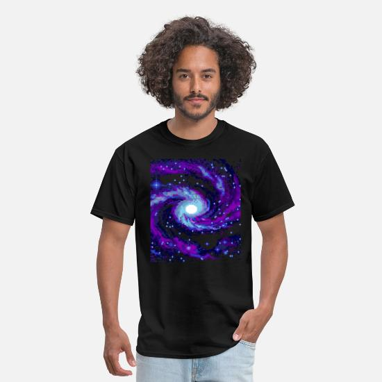 Space T-Shirts - Galaxy - Men's T-Shirt black