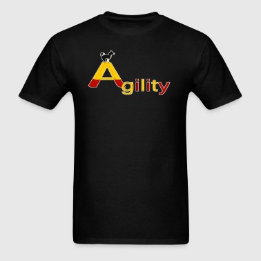 Agility big A - Men's T-Shirt