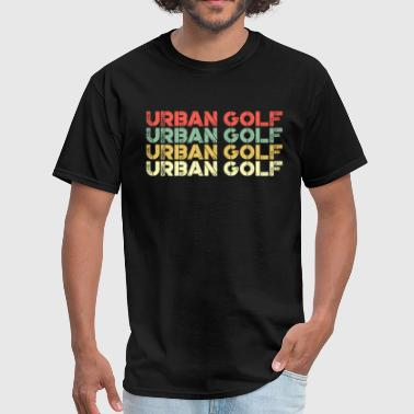 80s Of Golf Urban golf vintage - Men's T-Shirt