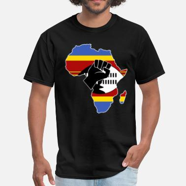 Swaziland SWAZILAND FLAG - Men's T-Shirt