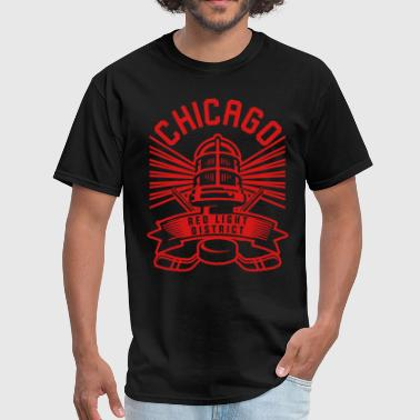 Chicago Red Light District - Men's T-Shirt
