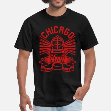 Red Light Chicago Red Light District - Men's T-Shirt