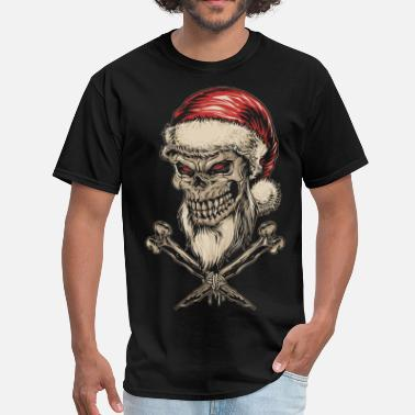 Christmas Collection Santa Skull - Men's T-Shirt