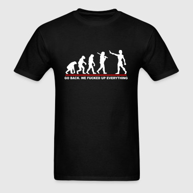 Go Back Evolution - Men's T-Shirt