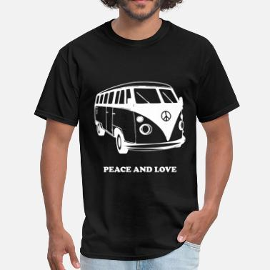 Peace And Love PEACE AND LOVE - Men's T-Shirt