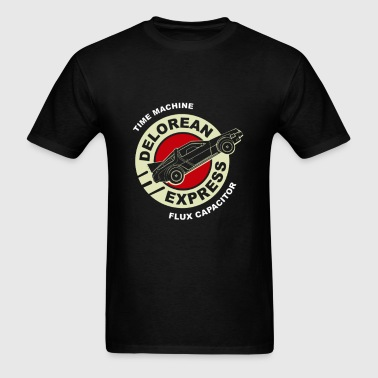 time machine - Men's T-Shirt