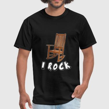 I ROCK ROCKING CHAIR - Men's T-Shirt