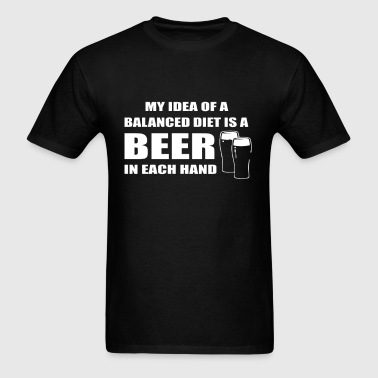 Beer drinkers - Men's T-Shirt
