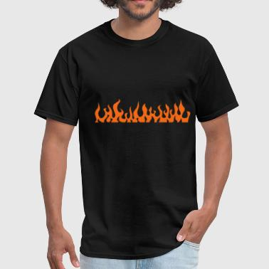 Tatoo flames 2 - Men's T-Shirt