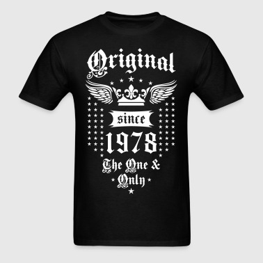 Original Since 1978 The One and Only Crown Wings - Men's T-Shirt