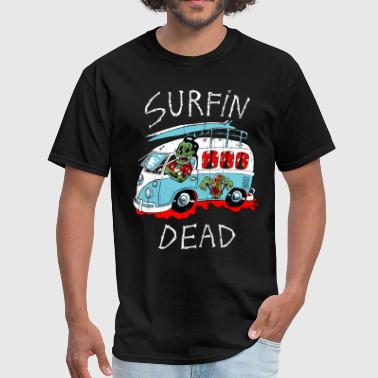 surfin dead - Men's T-Shirt