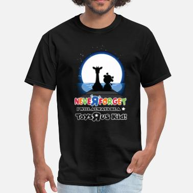 Nelson Mandela Kids never r forget i will always be a toys rus kid son - Men's T-Shirt