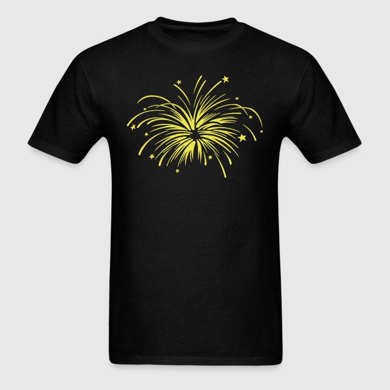 Fireworks VECTOR - Men's T-Shirt