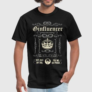 Gin T-Shirt Ginfluencer - Men's T-Shirt